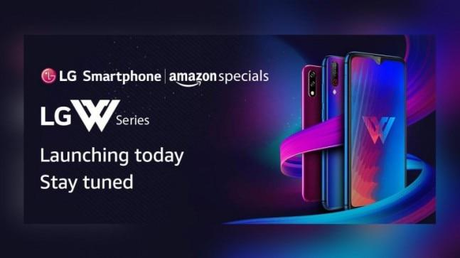 LG is expected to launch the LG W30 and the LG W10 at a special event in New Delhi. LG's W-series smartphones will be available exclusively via Amazon India.