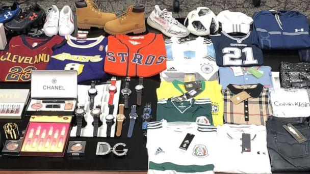 PHOTO: Department of Homeland Security investigators, who track fraudulent transactions, have confiscated more than half a billion in counterfeit goods in the past year, leading to hundreds of arrests and convictions. (U.S. Department of Homeland Security)