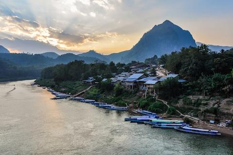 Nong Khiaw, on the Nam Ou river - Credit: GETTY
