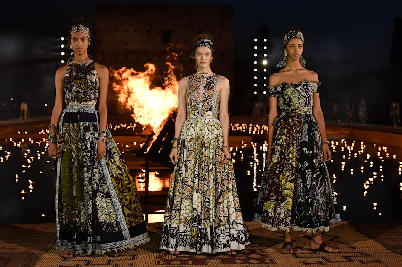 <p>From Chanel's take on la Belle Epoque to Dior's Marrakesh night <em>that was</em> <em>literally on fire, </em>Resort 2020 has been one of the best seasons to date. Click through for ELLE.com's favorite looks from all of your favorite designers, ahead. <em></em></p>