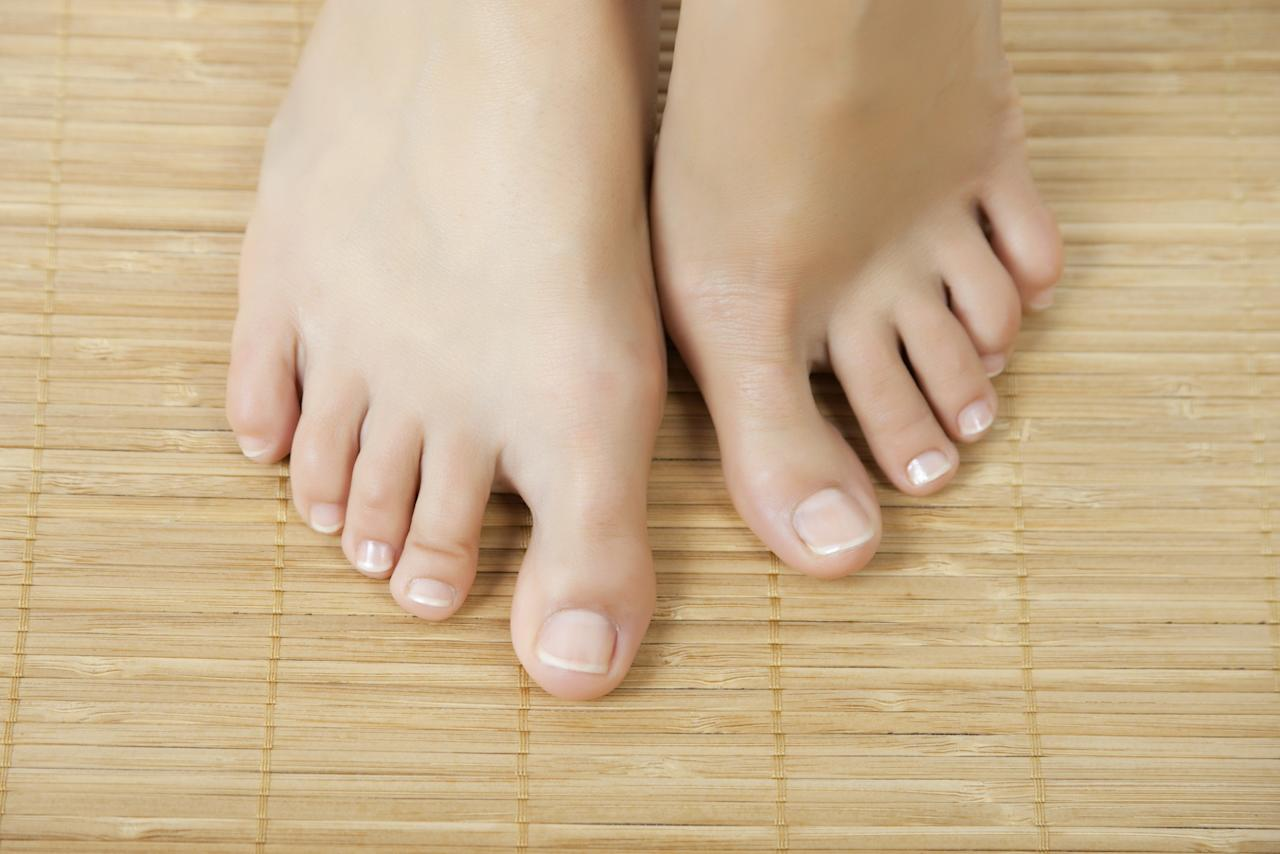 <p>It's important to wash in between your toes and dry your feet carefully to help prevent a fungal infection of the skin, such as athlete's foot. <em>(Photo: Getty)</em> </p>