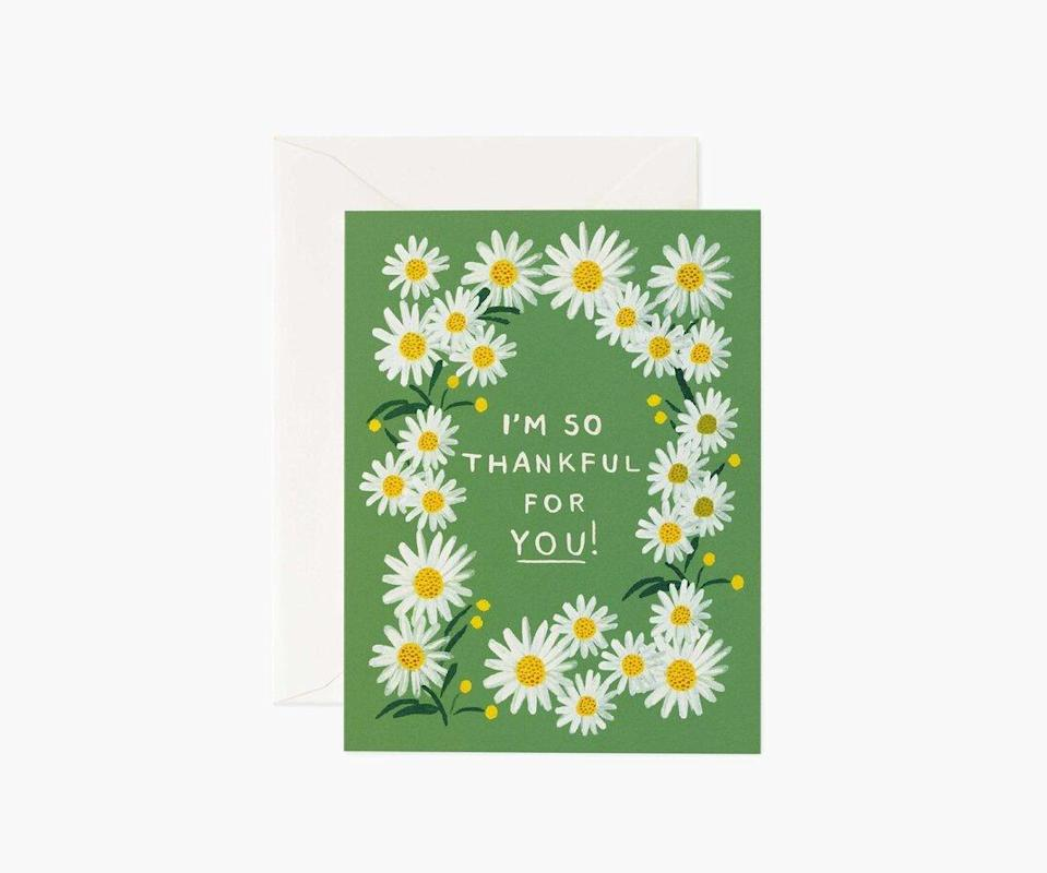 Daisies Thankful for You Cards