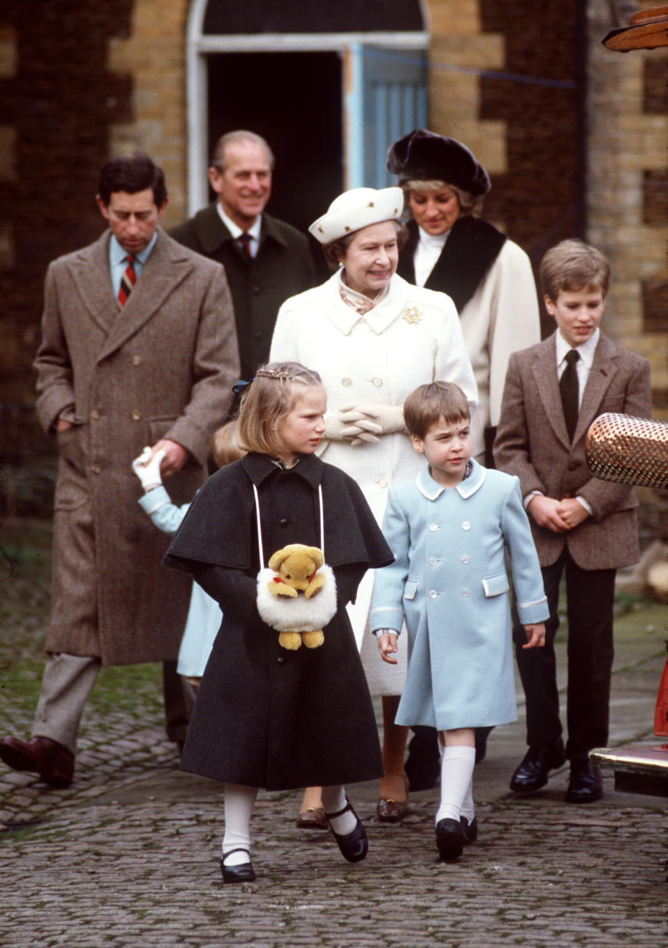 Queen And Family At Sandringham (Tim Graham / Getty Images)