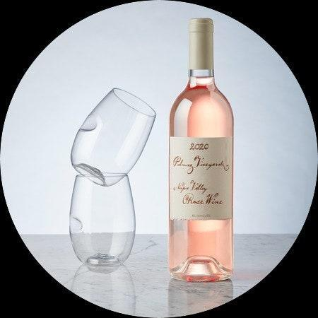 """Napa Valley's Palmaz is usually favored for its Cabernet Sauvignon (and, if you're lucky enough to visit, the teched-out winery, popular with the Silicon Valley crowd). But the rosé isn't to be missed: First just produced for friends and family, in the last eight years the vineyard has begun releasing bottles to the public. The 2020 bottling, a blend dominated by Cabernet Sauvignon, is balanced and crisp. $45, Palmaz Vineyards. <a href=""""https://palmazvineyards.com/cellar/shop/?view=product&slug=2020-rose"""" rel=""""nofollow noopener"""" target=""""_blank"""" data-ylk=""""slk:Get it now!"""" class=""""link rapid-noclick-resp"""">Get it now!</a>"""