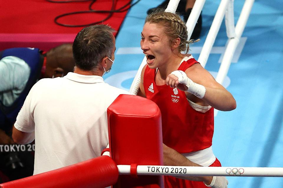 <p>Lauren Price is set to fight for a gold medal after she won the middleweight semi-final against Dutch opponent Nouchka Fontjin. She will now go up against China's 2018 world champion Li Qian.<br><br></p>