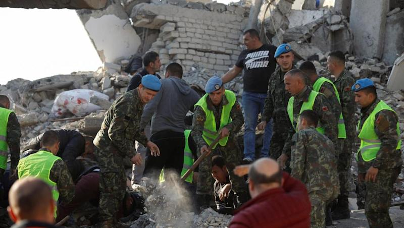 Death toll climbs in wake of devastating earthquake in Albania