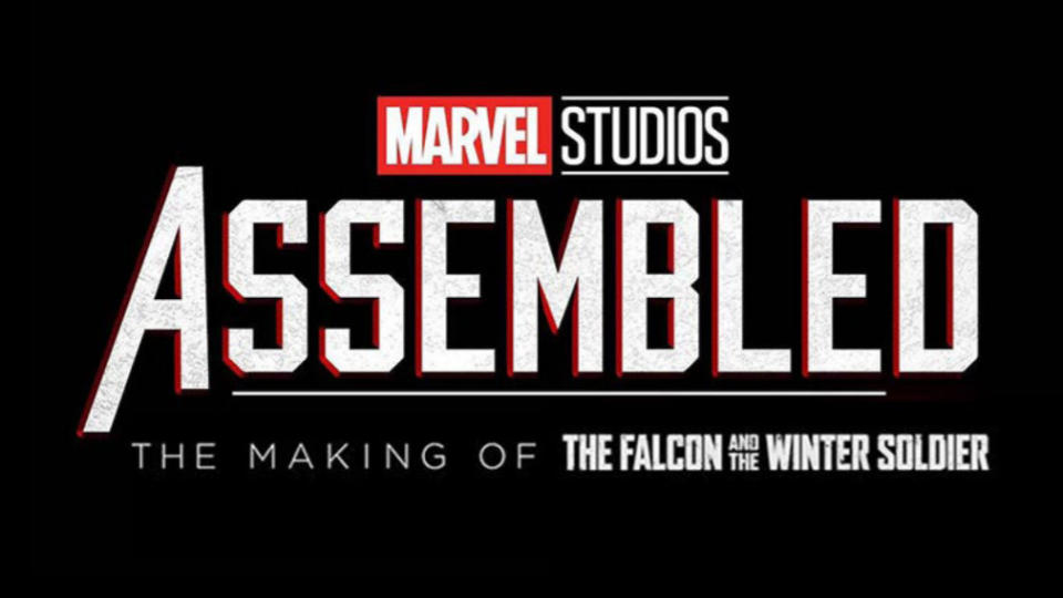 'Marvel Studios Assembled: The Making of The Falcon and the Winter Soldier'. (Credit: Disney/Marvel)