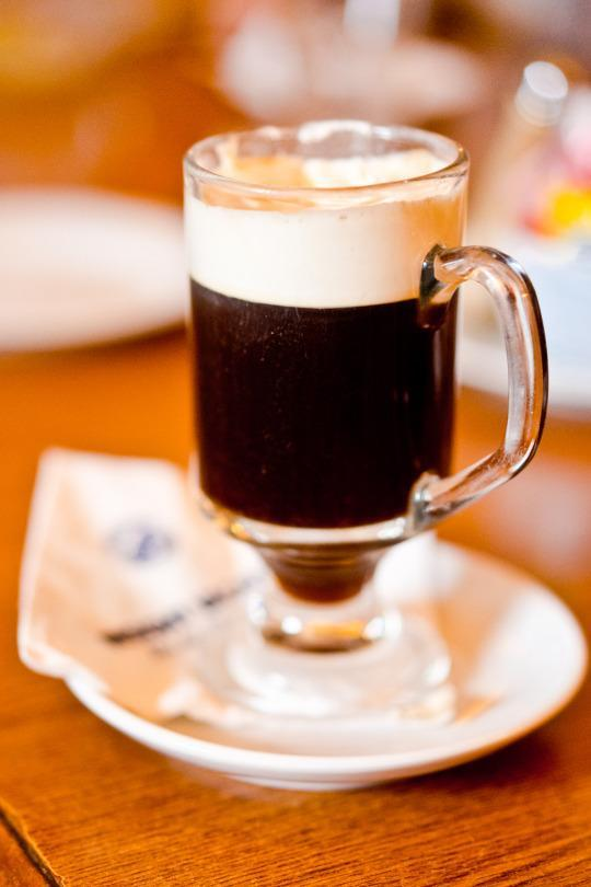 <p>The weather can be chilly and rainy in Ireland, so stop in any seaside town and find yourself an authentic Irish coffee, made with strong coffee, brown sugar, heavy whipping cream, and of course, Irish whiskey. It will warm you up, fast! <i>(Photo: Insight Vacations)</i></p>
