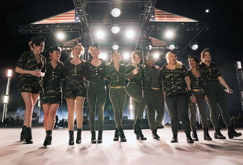 Pitch Perfect's Barden Bellas reunite for charity single