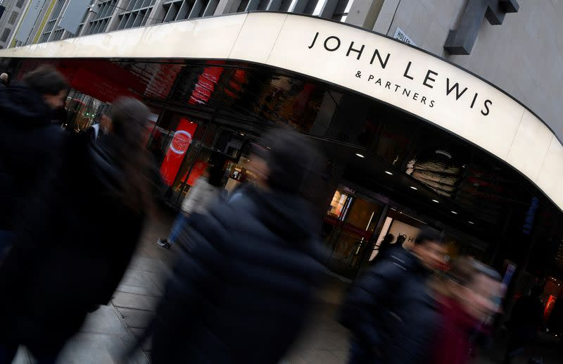 Britain's John Lewis to cease weekly sales reports