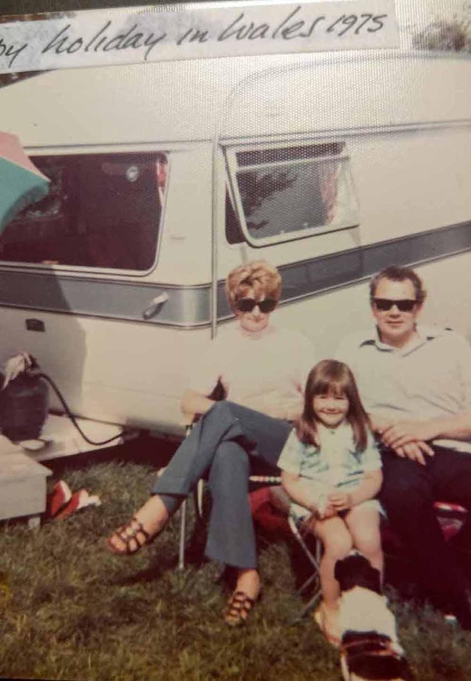 Amanda as a child on a family holiday. PA REAL LIFE COLLECT