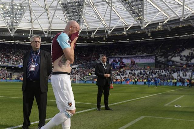'Heartbroken' James Collins confirms West Ham departure after 11 years
