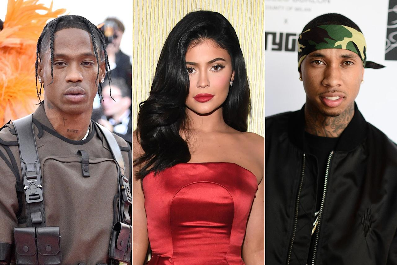 """<b>""""The internet makes everything 100 times more dramatic than what it really is. There was no '2am date with Tyga.' You see me drop two of my friends off at a studio that he happened to be at.""""</b>  — Kylie Jenner, denying rumors that she's rekindling her relationship with Tyga in the wake of her recent split from Travis Scott, <a href=""""https://people.com/tv/kylie-jenner-denies-date-tyga-travis-scott-break/amp/"""">on Twitter</a>"""