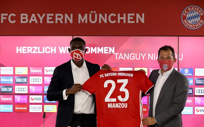 GER ONLY Tanguy Nianzou Kouassi FC Bayern
