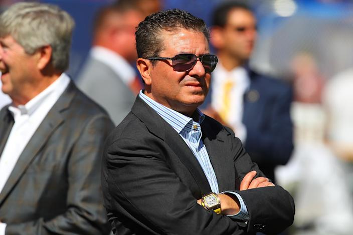 Image: Dan Snyder, NFL: SEP 29 Redskins at Giants (Rich Graessle / Icon Sportswire via Getty Images file)