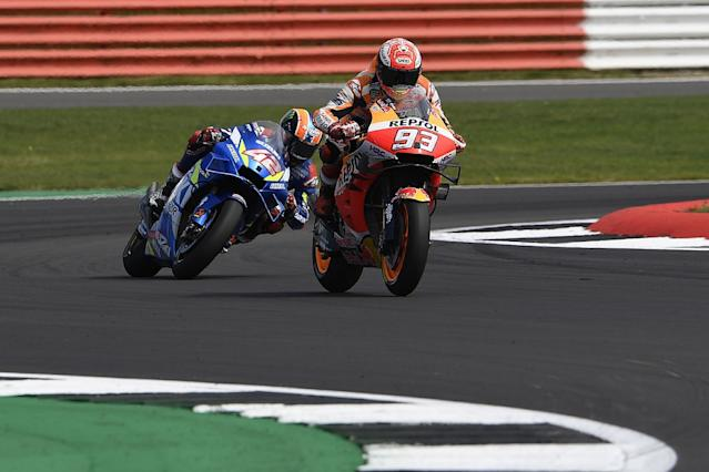 Marquez's Silverstone strategy wasn't to win