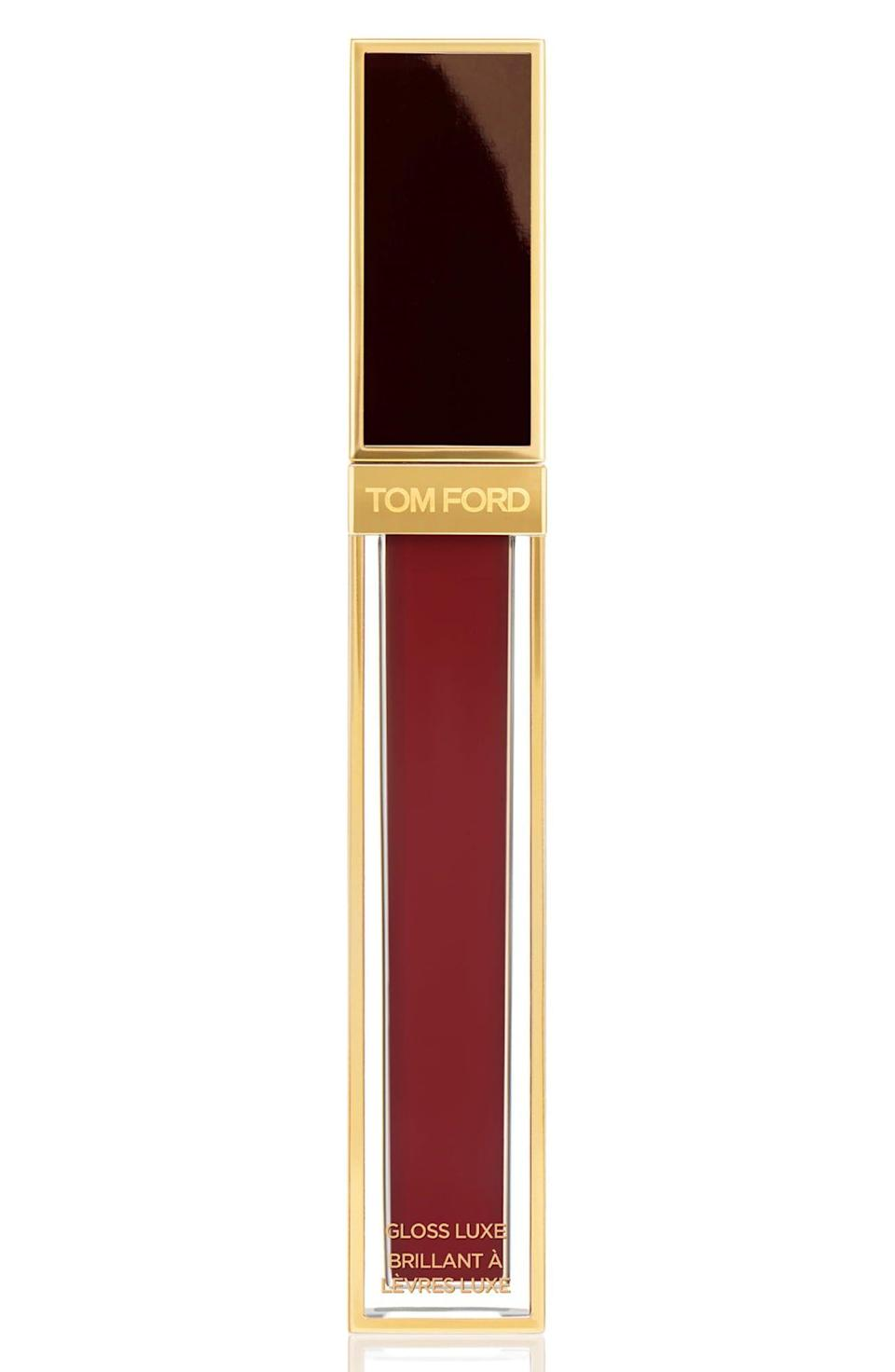"""<p><strong>TOM FORD</strong></p><p>nordstrom.com</p><p><a href=""""https://go.redirectingat.com?id=74968X1596630&url=https%3A%2F%2Fwww.nordstrom.com%2Fs%2Ftom-ford-gloss-luxe-moisturizing-lipgloss%2F5392450&sref=https%3A%2F%2Fwww.elle.com%2Fbeauty%2Fg35951728%2Fnordstrom-beauty-sale%2F"""" rel=""""nofollow noopener"""" target=""""_blank"""" data-ylk=""""slk:Shop Now"""" class=""""link rapid-noclick-resp"""">Shop Now</a></p><p><strong><del>$56</del> $47.60 (15% off) </strong></p>"""