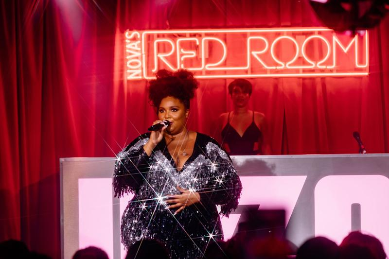 Lizzo performs at FOMO festival Melbourne