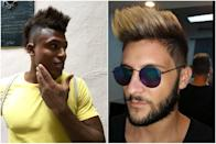 <p>A popular style around today is <i>el Mohicano</i>, aka the Mohawk. In the '80s, the rest of the world rocked 'hawks to signify rebellion, but today young men in Havana have taken the hairstyle to the next level. The sides are still shaved down, but now they're adding height and color to the old standard. <i>(Photo: Lara Naaman)</i></p>