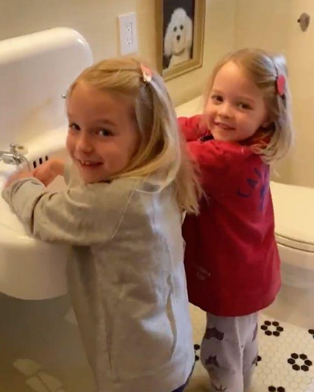 "<p>The Late Night show host wrote a song about the importance of washing your hands and resisting touching your face and included cameos from his two adorable daughters.</p><p><a href=""https://www.instagram.com/p/B9zrSEwg6ea/"" rel=""nofollow noopener"" target=""_blank"" data-ylk=""slk:See the original post on Instagram"" class=""link rapid-noclick-resp"">See the original post on Instagram</a></p>"