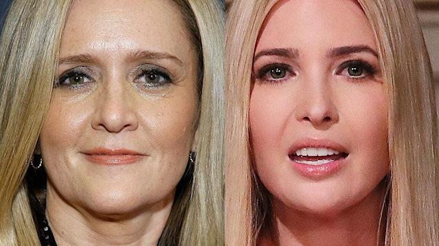 Samantha Bee thinks Ivanka Trump will follow in her father's footsteps and become president.