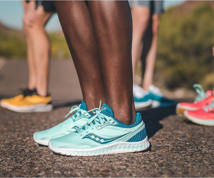 <p>The <span>Saucony Kinvara 11</span> ($100) is a lightweight, durable, and versatile pick. It's got plenty of cushioning for comfort, but is designed in a way that doesn't sacrifice response time.</p>
