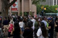 Crowds gather in Ottawa, Ont. to honour the Afzaal family. The London, Ont. family was killed while taking an evening stroll in an alleged terrorist act.