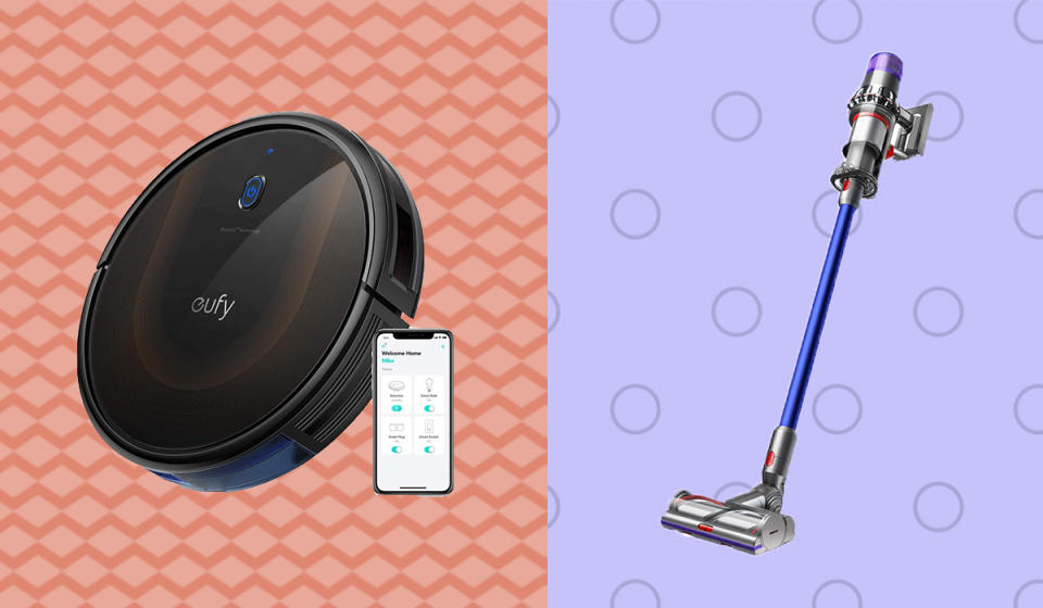 Now's the moment to upgrade to your dream vac—and save big. (Photo: Amazon/Dyson)