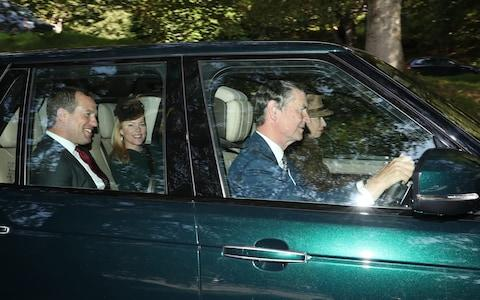 Timothy Laurence and Princess Anne alongside with Peter and Autumn Phillips - Credit: Andrew Milligan