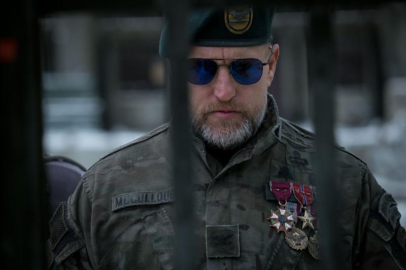 Woody Harrelson plays military leader the Colonel in 'War for the Planet of the Apes' (20th Century Fox)