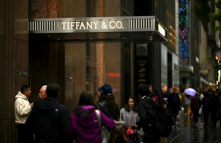Tiffany auf der New Yorker 5th Avenue