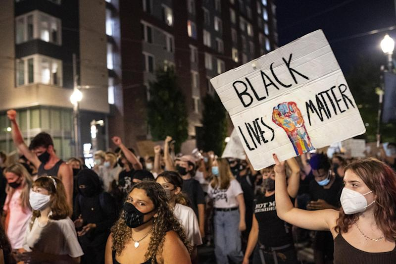 Protesters say they are not standing down any time soon: Getty