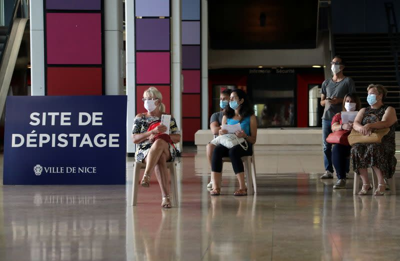 French city of Nice tightens coronavirus curbs as cases soar