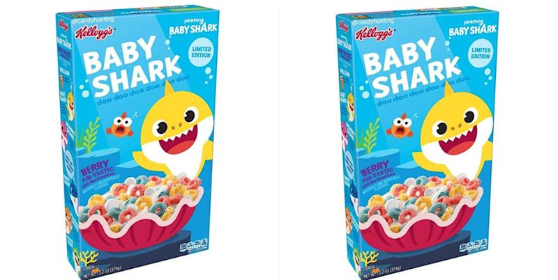 There will soon be a 'Baby Shark' cereal
