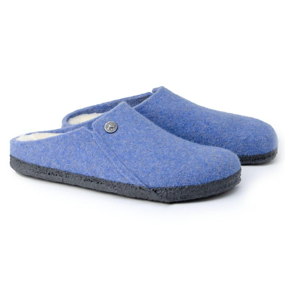 """<p><strong>Birkenstock</strong></p><p>birkenstock.com</p><p><strong>$99.95</strong></p><p><a href=""""https://go.redirectingat.com?id=74968X1596630&url=https%3A%2F%2Fwww.birkenstock.com%2Fus%2Fzermatt-wool-felt%2Fzermatt-cozyhomeshearling-woolfelt-0-latex-u.html%3Fdwvar_zermatt-cozyhomeshearling-woolfelt-0-latex-u_color%3D1550%23lang%3Den_US%26q%3Dhouse%2Bslippers&sref=https%3A%2F%2Fwww.seventeen.com%2Ffashion%2Fg32434960%2Fcute-slippers%2F"""" rel=""""nofollow noopener"""" target=""""_blank"""" data-ylk=""""slk:Shop Now"""" class=""""link rapid-noclick-resp"""">Shop Now</a></p><p>Birkenstocks' normal shoes are insanely comfortable, so you just <em>know </em>their house slippers are like clouds for the feet. </p>"""