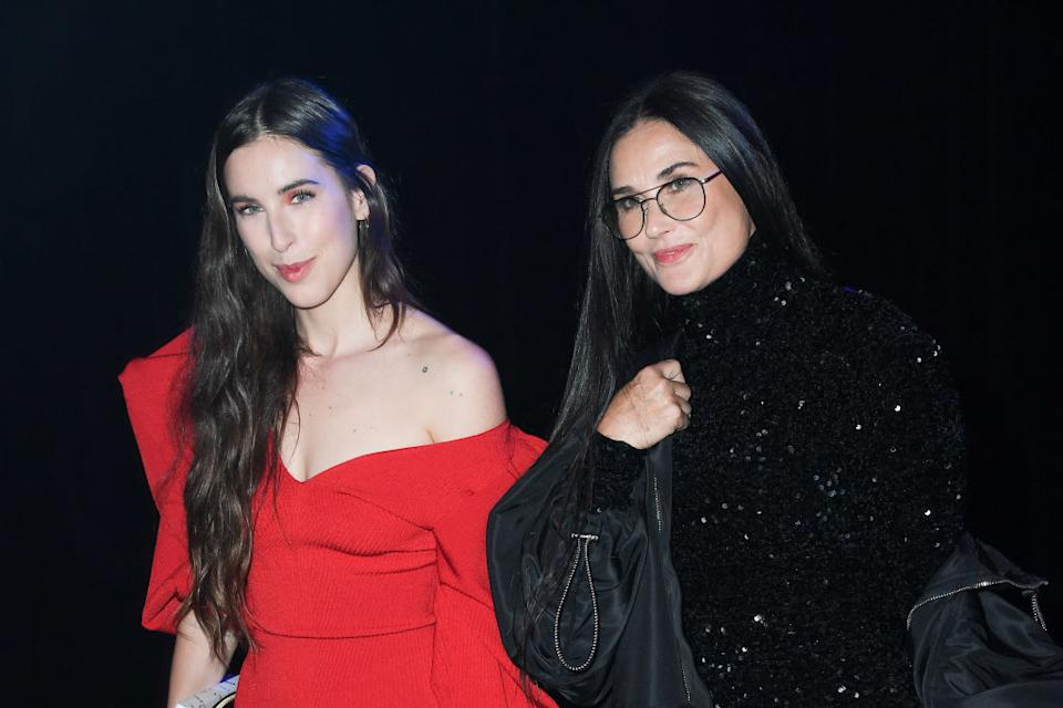 People can't get over how alike Demi Moore and daughter Scout Willis look, pictured at the