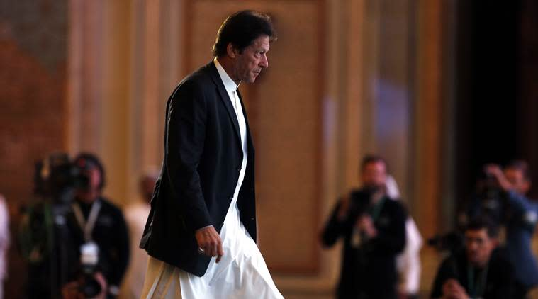 Pakistan PM Imran Khan, New Chief justice Pakistan, Asif Khosa, pakistan politics, pakistan news, indian express