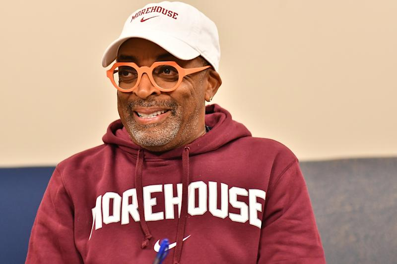 Spike Lee attends Morehouse College Human Rights Film Festival on October 12, 2019. (Photo by Paras Griffin/Getty Images)