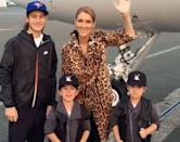 "<p>The Canadian icon is mom to sons <a href=""https://people.com/parents/celine-dion-son-rene-charles-19th-birthday-tribute/"" rel=""nofollow noopener"" target=""_blank"" data-ylk=""slk:René-Charles"" class=""link rapid-noclick-resp"">René-Charles</a>, 19, and 10-year-old twins Nelson and Eddy, whom she shared with her late husband <a href=""https://people.com/music/celine-dion-tribute-late-husband-rene-angelil-fourth-anniversary-death/"" rel=""nofollow noopener"" target=""_blank"" data-ylk=""slk:René Angélil"" class=""link rapid-noclick-resp"">René Angélil</a>.</p>"