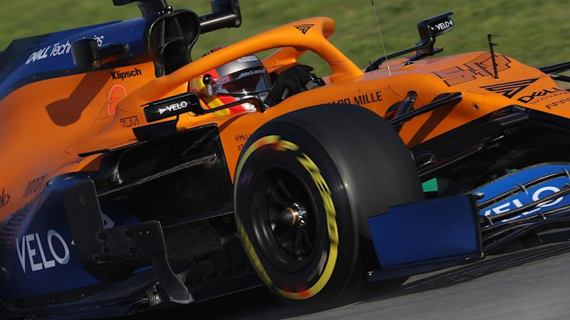 McLaren take coronavirus precautions at Barcelona test