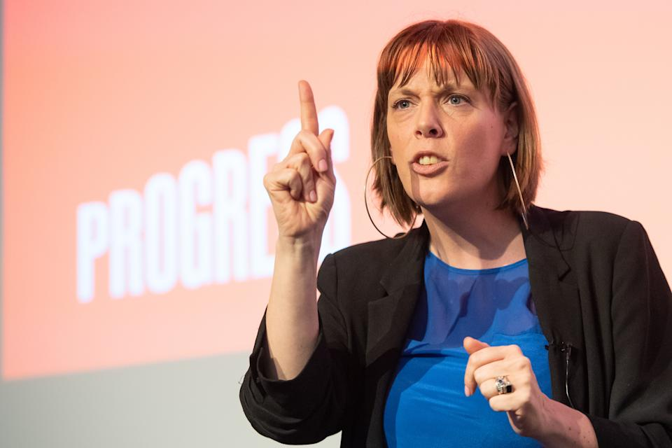 Jess Phillips speaking at the Progress annual conference at the TUC Congress Centre in Great Russell Street, London.