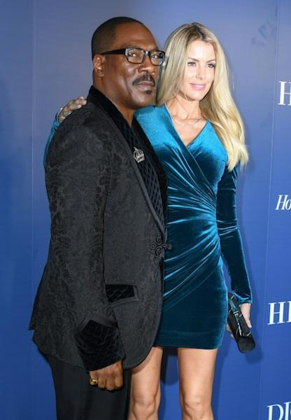 US actor Eddie Murphy -- pictured with girlfriend Paige Butcher -- is making a comeback to the awards circuit, along with a plethora of A-listers enthusiastically campaigning throughout the busy season