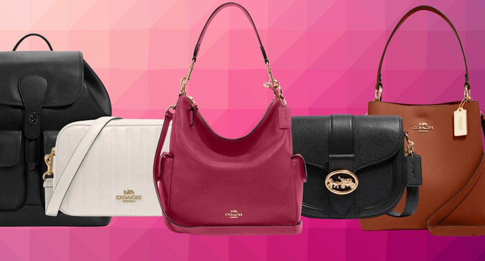 Hello, fall! Update your wardrobe today with these extra 15% off Coach bags (Photos via Coach Outlet)