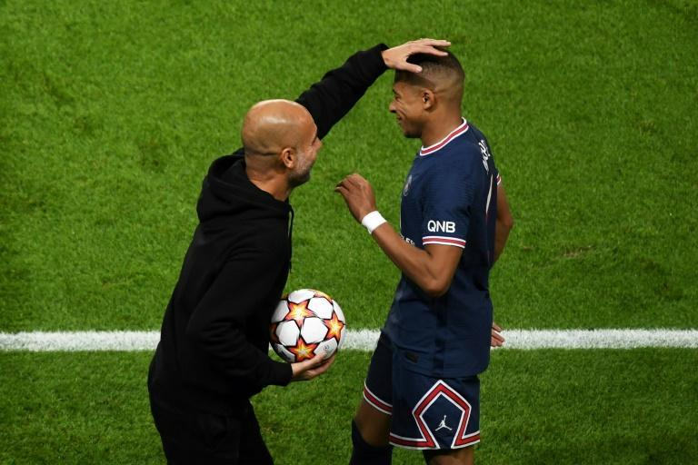 It wasn't to be for Manchester City and Pep Guardiola against Kylian Mbappe and his fellow PSG superstars (AFP/Alain JOCARD)