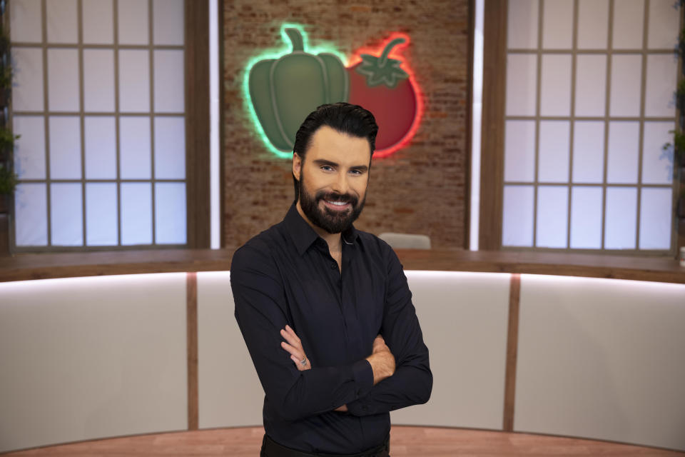WARNING: Embargoed for publication until 00:00:01 on 23/02/2021 - Programme Name: Ready Steady Cook - TX: n/a - Episode: n/a (No. n/a) - Picture Shows:  Rylan Clark-Neal - (C) Remarkable TV - Photographer: Graeme Hunter