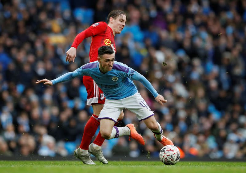 FA Cup Fourth Round - Manchester City v Fulham