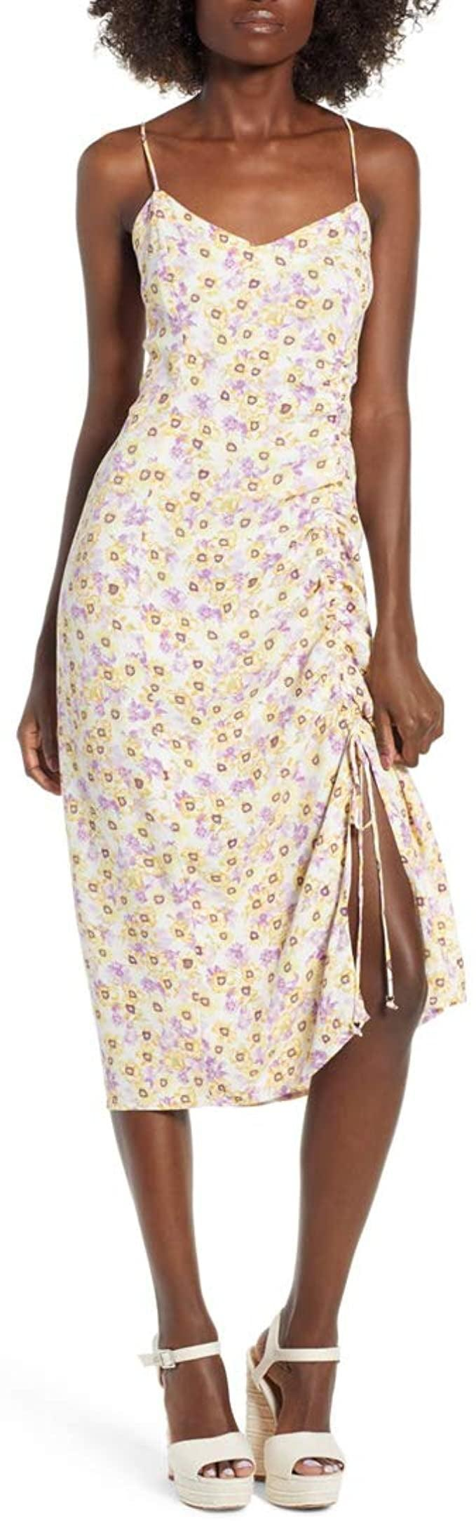 <p>This <span>AFRM Favor Ruched Midi Dress</span> ($55) is a stylish pick for any occasion.</p>