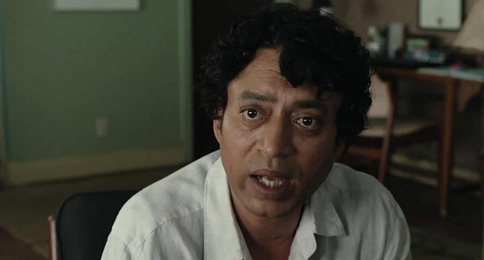 """Irrfan had by now starred in many top-flight English films, including the Oscar-winning Slumdog Millionaire. Life of Pi took him to the next level of international stardom. His sensitive retelling of Pi Patel's travails won him many admirers. As he himself described the challenge of playing Pi: """"It couldn't be the journey of one person. It should come across as if it's the voice of every human being. The voice of humanity. Not just the story of Pi. That is very challenging for an actor."""""""