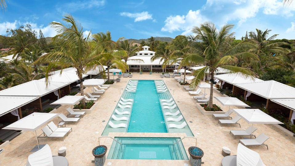 Serenity at Coconut Bay in St. Lucia is an upscale adults-only resort on the south coast.