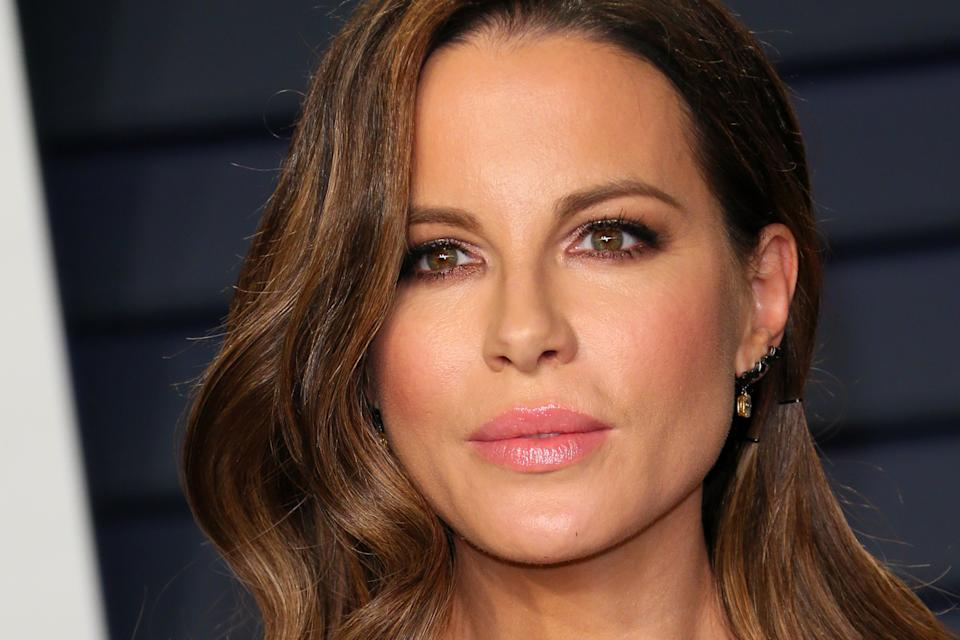 Kate Beckinsale has shared a poem written by her father Richard. (Photo by Jean-Baptiste LACROIX / AFP via Getty Images)